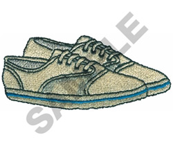 TENNIS SHOES embroidery design