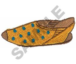 POLKA DOT SANDAL embroidery design