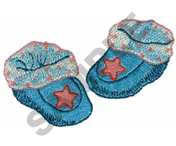 BABY SHOES embroidery design