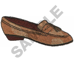 PENNY LOAFER SHOE embroidery design