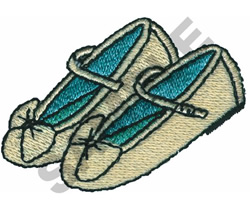 CHILDS DRESS SHOES embroidery design