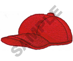 BASEBALL HAT embroidery design