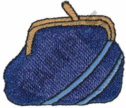 COIN PURSE embroidery design