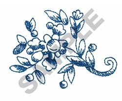 ROMANTIC TOILE embroidery design