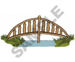 ARCHED BRIDGE embroidery design