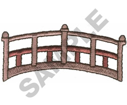 WALKING BRIDGE embroidery design
