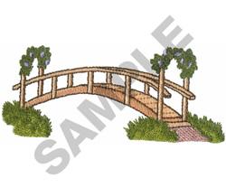 WALKING BRIDGE embroidery design