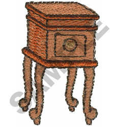 END TABLE embroidery design
