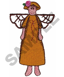 ANGEL DOLL embroidery design