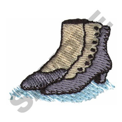 VICTORIAN BOOTS embroidery design