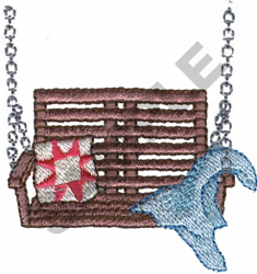 PORCH SWING embroidery design