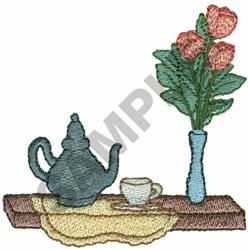 TABLE SCENE embroidery design