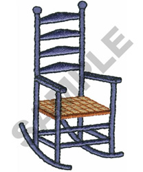 ROCKING CHAIR embroidery design