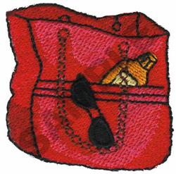 BEACH BAG embroidery design