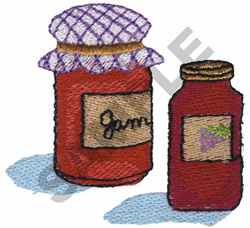 JAM embroidery design