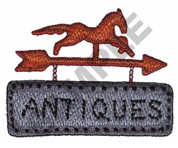 ANTIQUES embroidery design