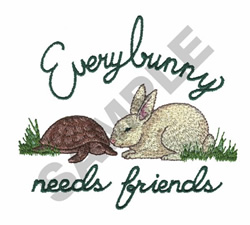 BUNNY DESIGNS embroidery design