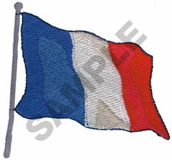 PARIS FLAG embroidery design