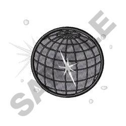 Disco Ball embroidery design
