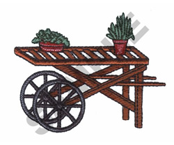PLANT CARRIER embroidery design