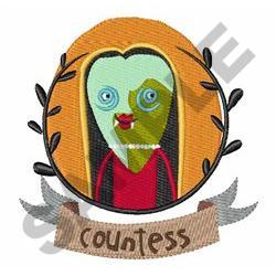 COUNTESS DRACULA embroidery design