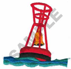 BUOY embroidery design