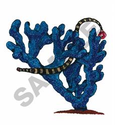 ZEBRA FISH embroidery design