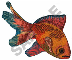 GOLDFISH embroidery design
