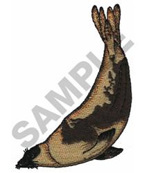 HARPSEAL embroidery design