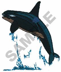 ORCA embroidery design