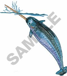 NAWHALE SEA UNICORN embroidery design
