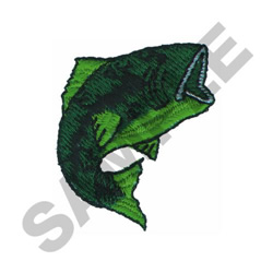 BASS embroidery design