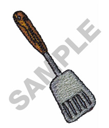 SPATULA embroidery design