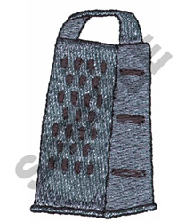 GRATER embroidery design