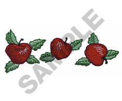 APPLE BORDER embroidery design