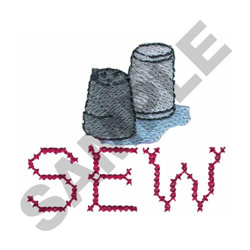 THIMBLES embroidery design