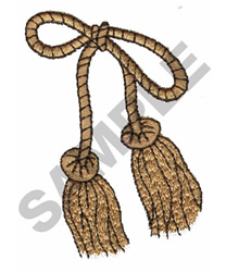 TASSEL embroidery design