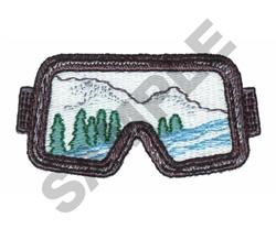 SNOW GOGGLES embroidery design