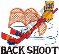 BACK SHOT embroidery design