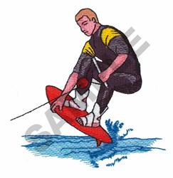 SUMMER SURFER embroidery design