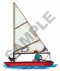 SUMMER SAILING embroidery design