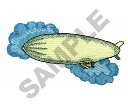 BLIMP embroidery design