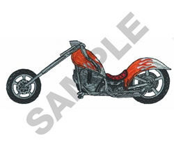 CHOPPER embroidery design