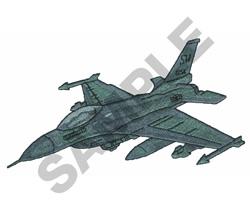 F-16 embroidery design