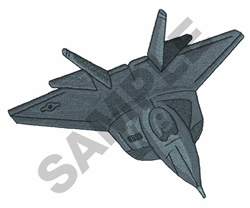 F22 RAPTOR embroidery design