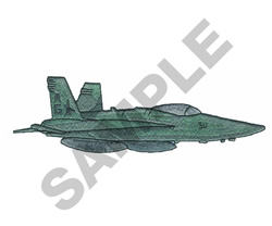 FA-18 embroidery design