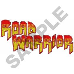 ROAD WARRIOR embroidery design