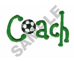 COACH embroidery design