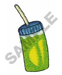SPORT BOTTLE embroidery design