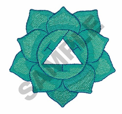 YOGA FLOWER embroidery design
